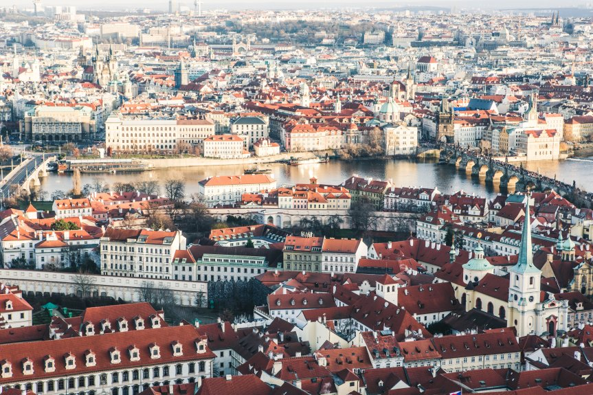 Prague – The best 3 Spots for that Bird-Eye View